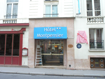 Hotel Montpensier, in Bournonville's day