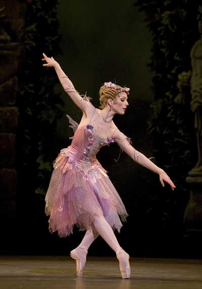 Sarah Lamb as The Summer Fairy 	<p>Copyright Bill Cooper