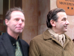 Frank Andersen & Jean-François Legaret, Mayor of the 1er arrondissement de Paris